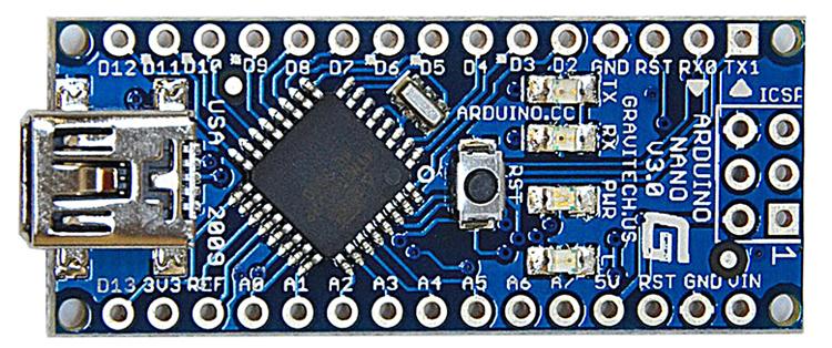 Arduino Nano Pinout Und Ubersicht Iotspace Dev