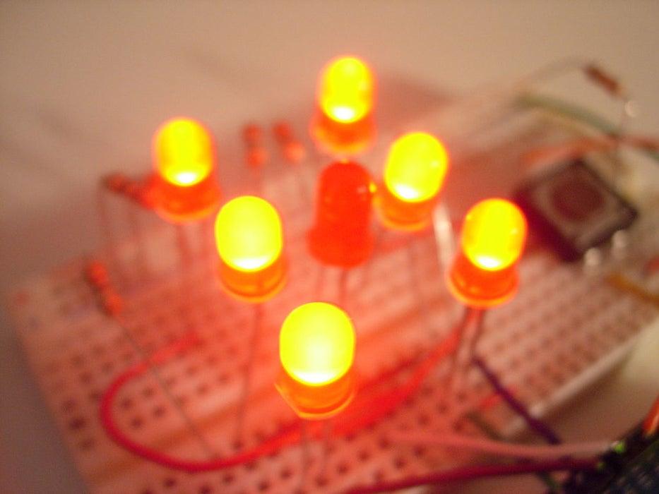 Arduino LED Würfel
