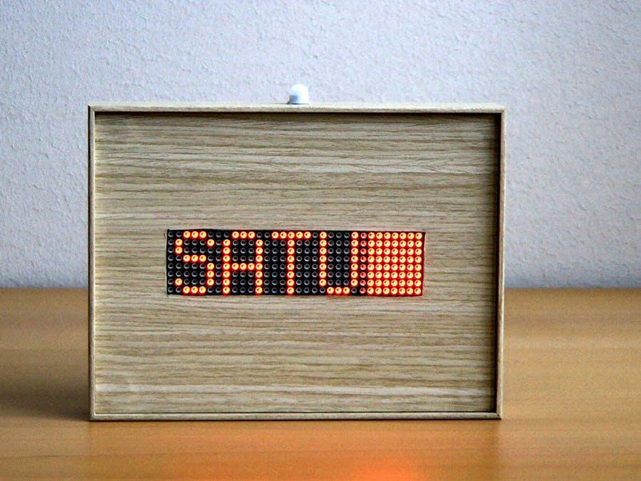 matrix info display