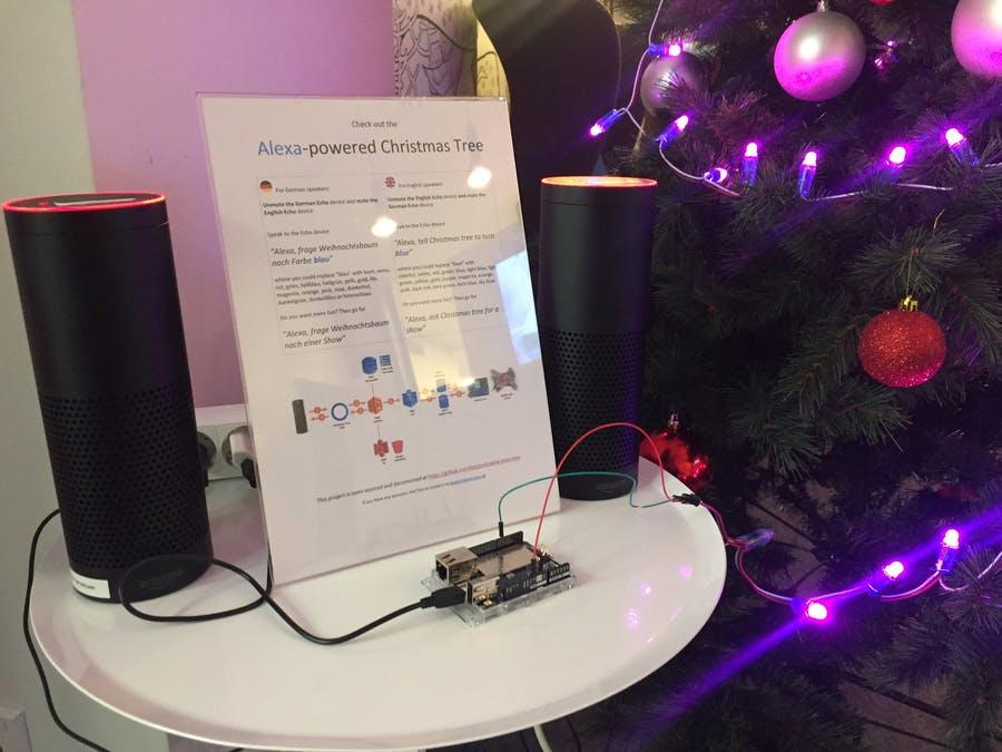 Alexa Weihnachtsbaumsteuerung