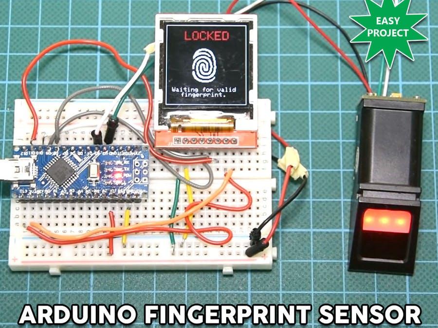 Arduino Fingerabdruck Sensor