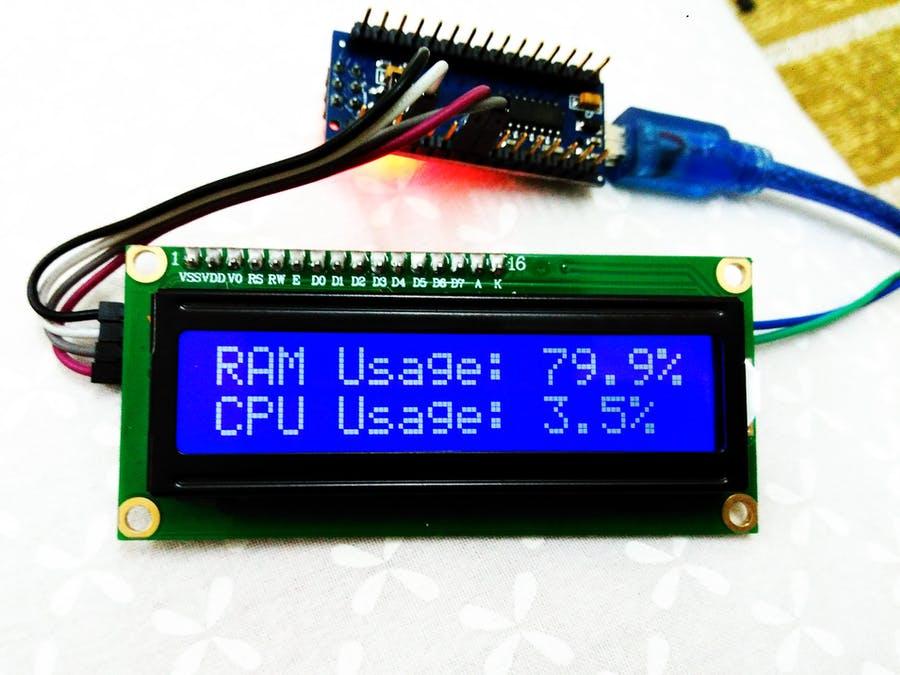 CPU und RAM Anzeige für den PC