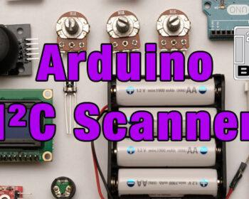 Arduino I2C Scanner