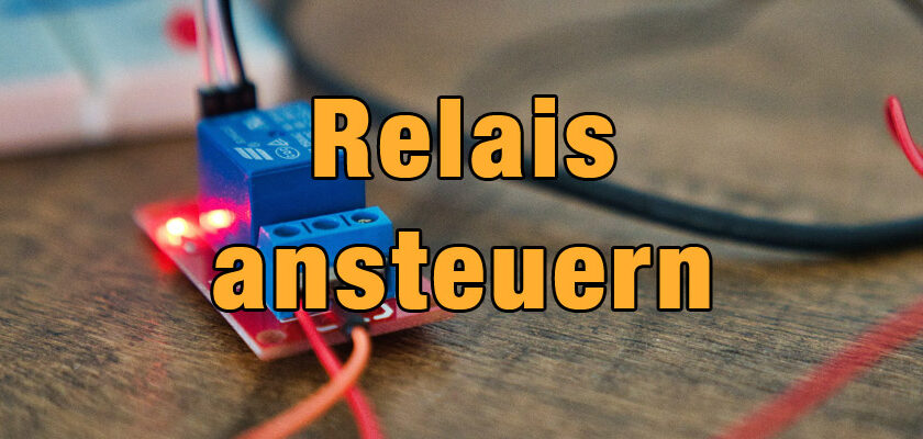 Arduino Relais ansteuern