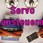 Arduino sg90 servo ansteuern