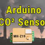 Arduino CO2 Sensor - MH-Z19 - Kohlendioxid